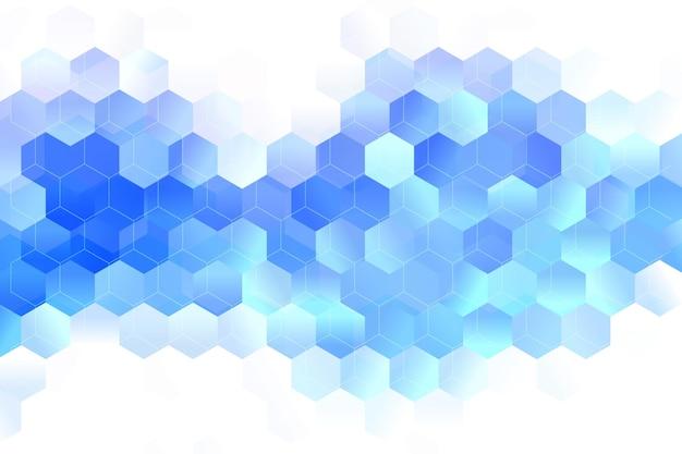 Градиент гексагональной фон