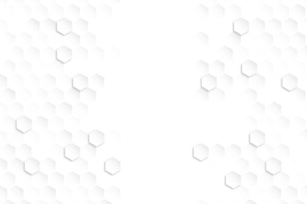 그라데이션 육각 배경