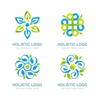 그라데이션 전체적인 로고 컬렉션