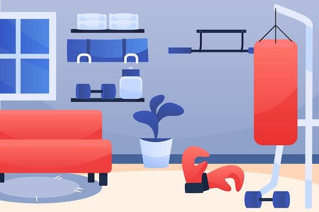 그라디언트 홈 체육관 및 박스 장비