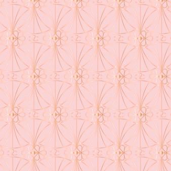 아트 데코 패턴의 그라데이션 그림