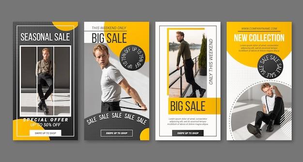 Gradient instagram sale stories collection
