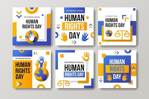グラデーション国際人権デーのinstagramの投稿コレクション