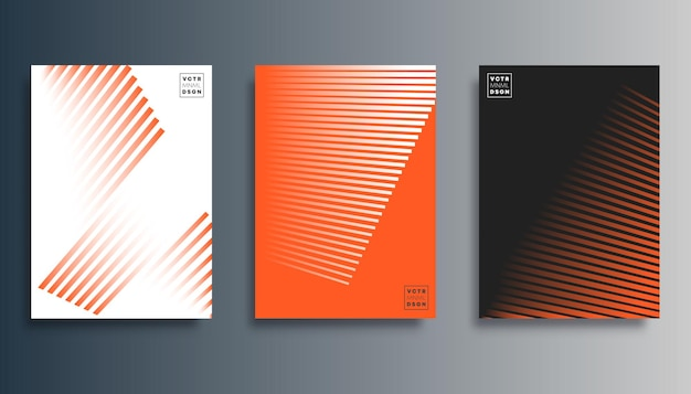 Gradient line minimal design for flyer, poster, brochure cover, background, wallpaper, typography, or other printing products. vector illustration.