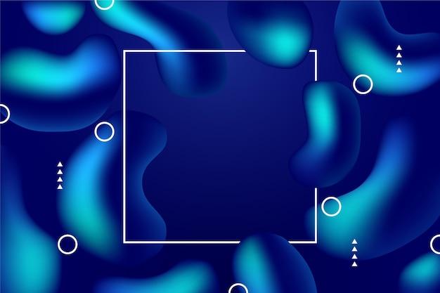 グラデーション液体抽象的な背景