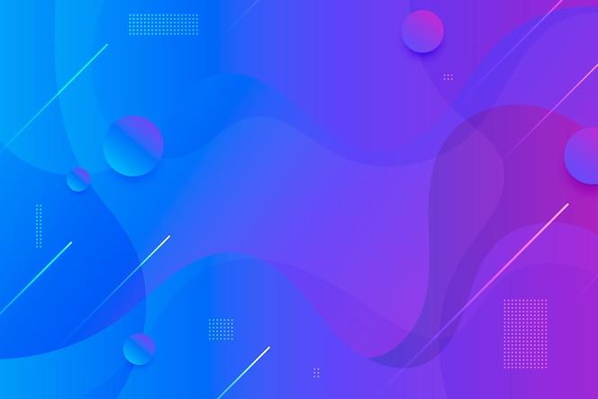 Градиент жидкости абстрактный фон
