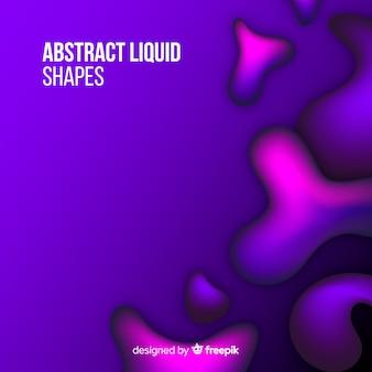 Gradient liquid background