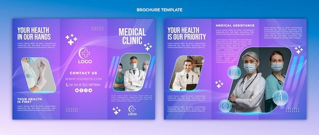 Gradient medical clinic brochure