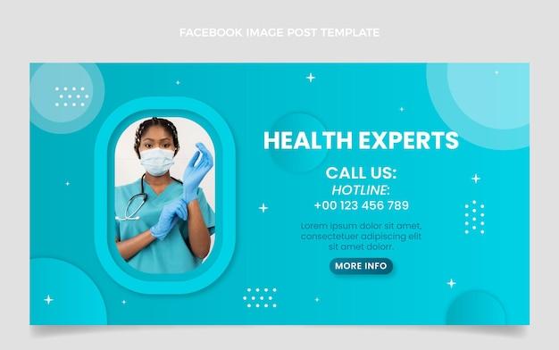 Gradient medical facebook post