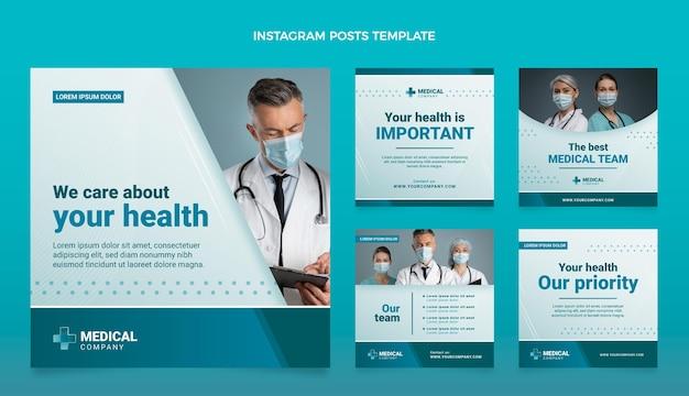 Gradient medical ig posts set