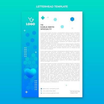 Carta intestata medica sfumata