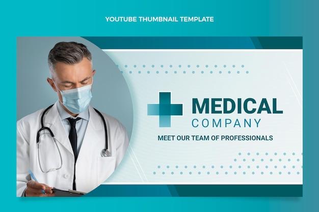 Miniatura di youtube medica sfumata