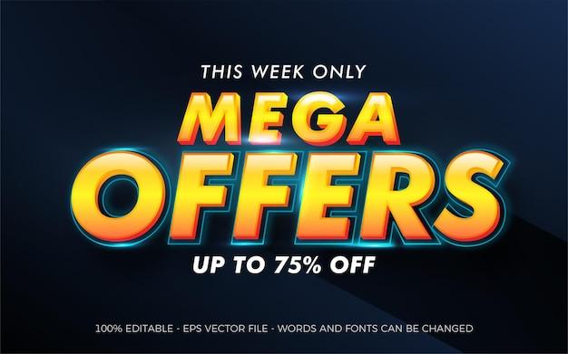 Gradient mega sale special offer promo discount
