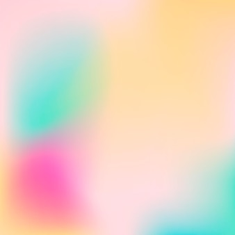 Gradient mesh abstract background. colorful fluid shapes for poster, banner, flyer and presentation. trendy soft colors and smooth blend. modern template with gradient mesh for screens and mobile app