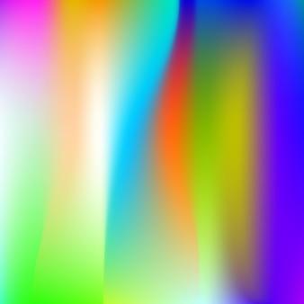 그라디언트 메쉬 추상적인 배경입니다. 그라디언트 메쉬가 있는 최소 홀로그램 배경입니다. 90년대, 80년대 레트로 스타일. 브로셔, 전단지, 포스터 디자인, 벽지, 모바일 화면을 위한 진주빛 그래픽 템플릿.