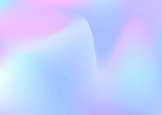 Gradient mesh abstract background. multicolor holographic backdrop with gradient mesh. 90s, 80s retro style. pearlescent graphic template for banner, flyer, cover design, mobile interface, web app.