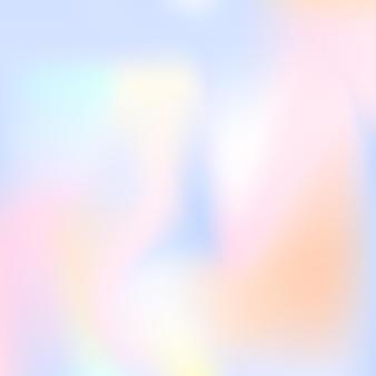 그라디언트 메쉬 추상적인 배경입니다. 그라디언트 메쉬가 있는 플라스틱 홀로그램 배경입니다. 90년대, 80년대 레트로 스타일. 브로셔, 전단지, 포스터 디자인, 벽지, 모바일 화면을 위한 진주빛 그래픽 템플릿.