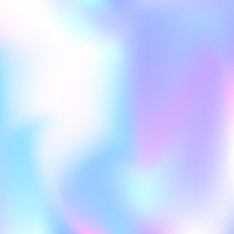 Gradient mesh abstract background. stylish holographic backdrop with gradient mesh. 90s, 80s retro style. pearlescent graphic template for brochure, flyer, poster design, wallpaper, mobile screen.