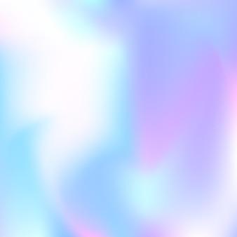 그라디언트 메쉬 추상적인 배경입니다. 그라디언트 메쉬가 있는 세련된 홀로그램 배경입니다. 90년대, 80년대 레트로 스타일. 브로셔, 전단지, 포스터 디자인, 벽지, 모바일 화면을 위한 진주빛 그래픽 템플릿.