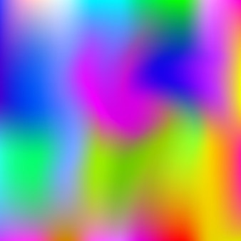 Gradient mesh abstract background. vibrant holographic backdrop with gradient mesh. 90s, 80s retro style. pearlescent graphic template for brochure, flyer, poster design, wallpaper, mobile screen.