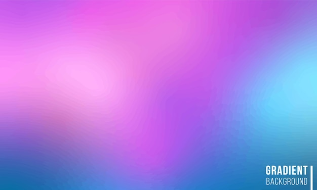 그라디언트 메쉬 배경색 흐림 스타일의 빛나는 화려한 그림 부드러운 색상 그라디언트