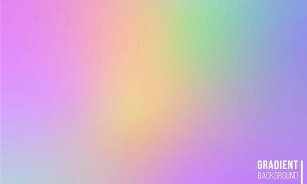 그라디언트 메쉬 배경색 흐림 스타일의 빛나는 화려한 그림