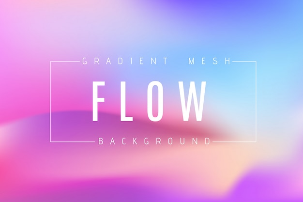 Gradient mesh background