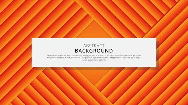 Gradient modern abstract geometric papercut background design