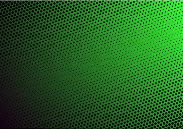 Gradient modern halftone green background