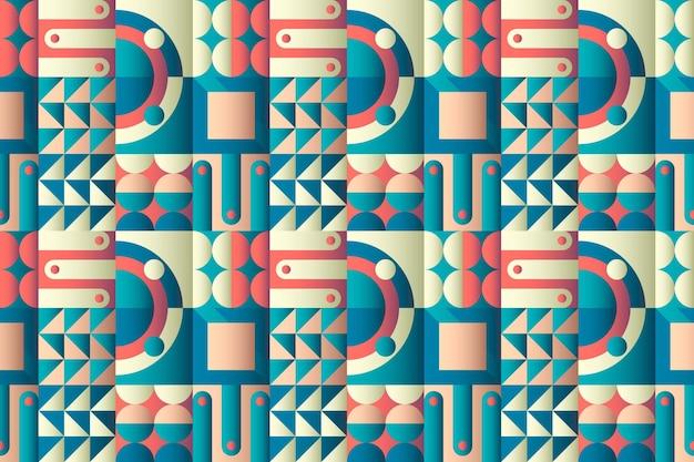 그라데이션 모자이크 패턴 디자인