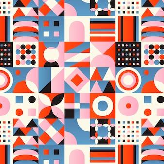 Gradient mosaic pattern design