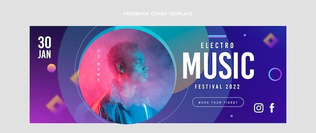 グラデーション音楽祭facebookカバー