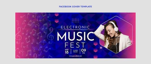 Обложка facebook фестиваля градиентной музыки