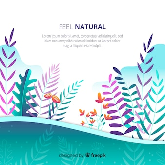 Gradient Nature Background
