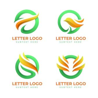 Gradient o logo collection
