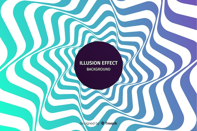 Gradient optical illusion effect background