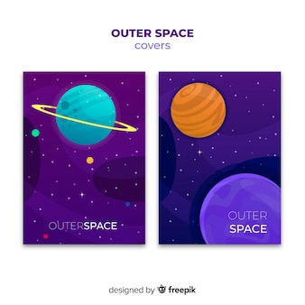 Gradient outer space covers