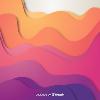 Gradient paper background