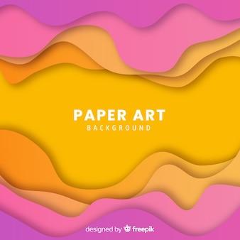 Gradient paper background