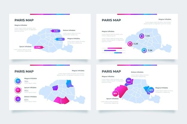 グラデーションパリマップのインフォグラフィック