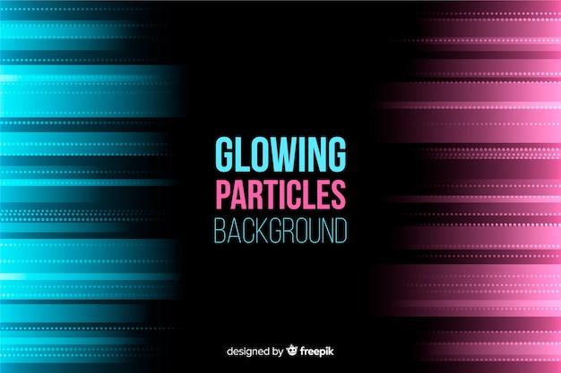 Gradient particles background