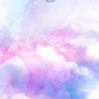그라데이션 파스텔 하늘 배경