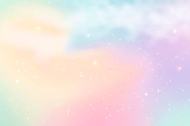 Gradient pastel sky background