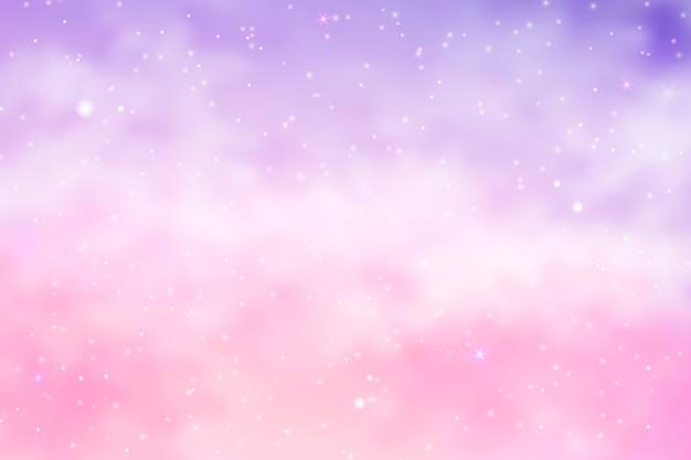 Gradient pastel sky background