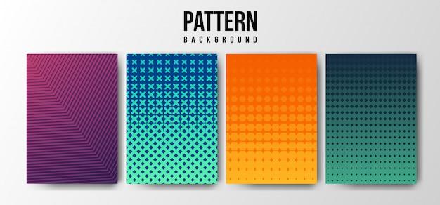 Gradient pattern background