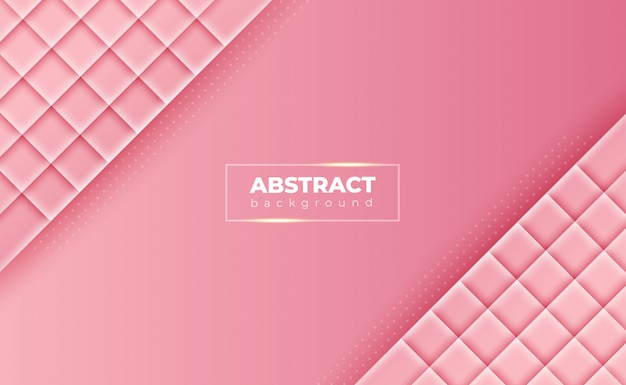 グラデーションピンクの抽象的な幾何学的な背景