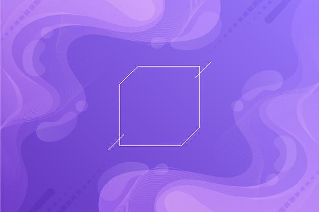Gradient purple wavy background