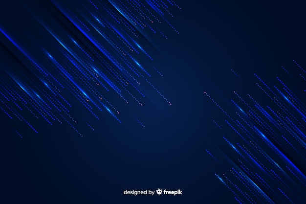 Gradient rain of particles background