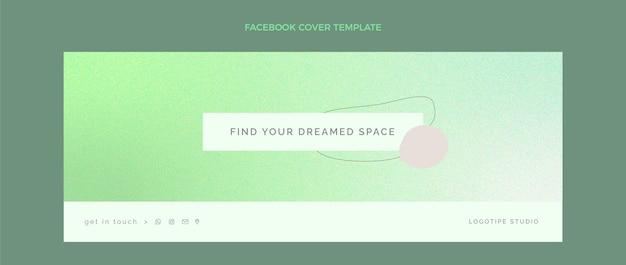 Gradiente copertina facebook immobiliare
