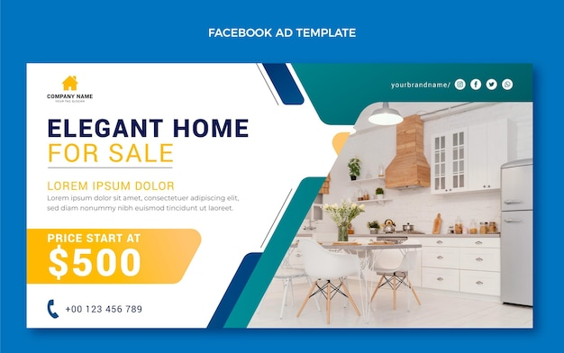 Gradient real estate facebook